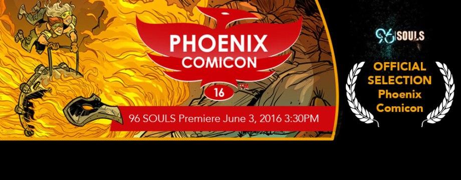 Phoenix Comic Con 96 Souls Premiere